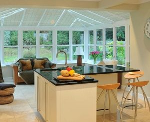 conservatory kitchen design